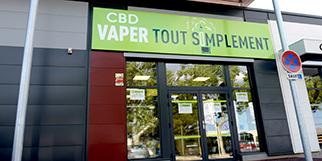 Vaper Tout Simplement Perpignan vend des articles pour le vapotage, cigarette électronique et e-liquides, et du CBD ( ® vaper tout simplement)