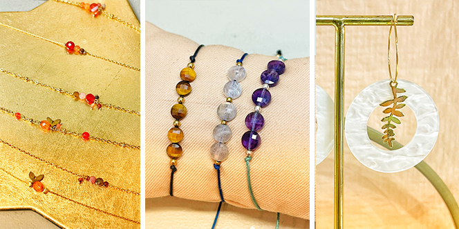 Atypick Perpignan vend des bijoux de créateurs et des bijoux artisanaux