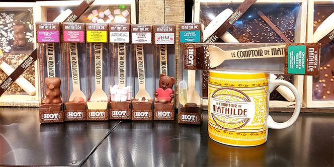 Comment faire un bon chocolat chaud ? Le comptoir de Mathilde Perpignan vous propose le Hot chocolate.