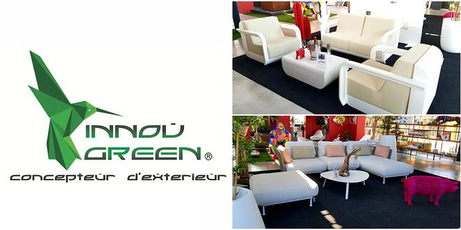 Innov'Green Perpignan vend de superbes salons de jardin.