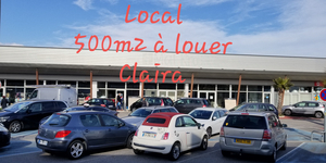 Local de 500m² à louer à Claira