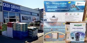 Trouvez le piège anti-moustiques à Perpignan chez Cash Graines Sud Pollestres.
