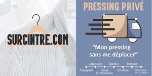 Surcintre.com propose des services de pressing sans se déplacer.