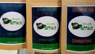 Vapot France Pollestres vend des infusions de fleurs de CBD