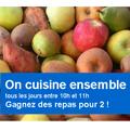 """Gagnez des repas pour 2 à l'écoute de France Bleu Roussillon de 10h à 11h dans l'émission """"On cuisine ensemble"""" (® france bleu roussillon)"""