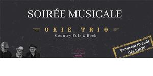 Michel Roger annonce une Soirée musicale le 10 août à Saleilles sur des notes Country et Folk Rock accompagnée de tapas Maison. Pensez à réserver.