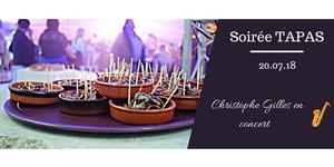 Michel Roger Traiteur annonce une Soirée musicale le 20 juillet à Saleilles sur des notes Swing Jazz accompagnée de tapas Maison (® michel roger)