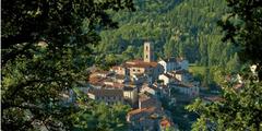 Le village de Saint Laurent de Cerdans, 60 km au sud-ouest de Perpignan