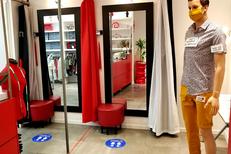 Couture Perpignan chez ABCouture en centre-ville pour vos créations, retouches et ourlets (® SAAM d Gontier)
