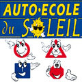 Logo de l'auto-ecole du Soleil dans la ville du Boulou