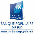 Logo de la Banque Populaire du Sud dans la ville de Perpignan