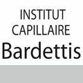 Logo de l'institut capillaire Bardettis, specialiste des soins pour cheveux, de perruques et coiffeur sur le boulevard Félix Mercader au centre-ville de Perpignan.