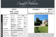 Maison de caractère Perpignan sur 15 000 m²  par Carnet d'adresses Immobilier