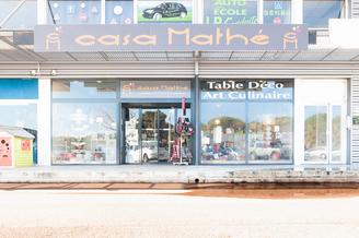Casa Mathé Perpignan propose une sélection d'objets de Décoration, de mobilier, d'art de la table et d'idées cadeaux au C.Cial Espace Sud à Latour Bas Elne (® networld-bruno aguje)