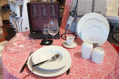 Casa Mathé Latour Bas Elne et ses idées cadeaux Noël Perpignan avec des articles d'art de la table