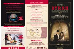 Caves Byrrh Thuir proposent une Présentation des caves avec les différents types de visites et expériences touristiques