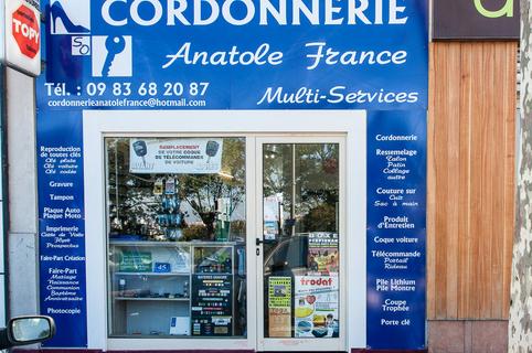 Cordonnerie Anatole France Perpignan  (® networld-bruno Aguje)
