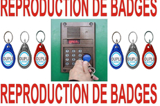Cordonnerie Le Boulou multi-services propose la reproduction de badges