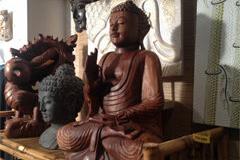 Damaï Perpignan présente des objets artisanaux provenant de Bali, d'Inde ou du Népal (® Damaï)