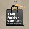 Logo de la boutique de mode Easy Fashion Age au centre-ville de Perpignan