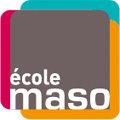 Logo de l'Ecole privee Maso dans le quartier Clemenceau de Perpignan