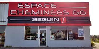 Espace Cheminées 66 Perpignan propose un grand choix de Poêles, de Cheminées et d'inserts au Mas Guérido Cabestany (® networld-bruno aguje)