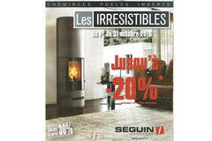 Espace Cheminées 66 Perpignan annonce ses Promos d'octobre sur appareils Seguin (®espace cheminées)