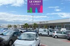 Trouvez des magasins et des commerces à Claira à l' Espace Le Crest près de Perpignan