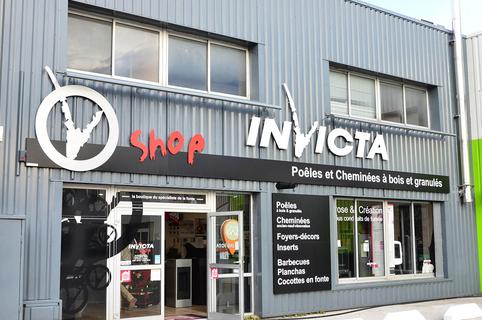 Invicta Shop Perpignan vend des poêles à bois, des poêles à granulés, des poêles à gaz, des cheminées au Mas Guérido de Cabestany.(® SAAM-S.Delchambre)