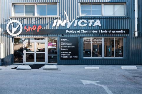 Invicta Shop Perpignan vend des poêles à bois, des poêles à granulés, des poêles à gaz, des cheminées au Mas Guérido de Cabestany.(® networld-bruno Aguje)