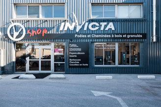 Invicta Shop Perpignan vend des poêles à bois, des poêles à granulés, des cheminées au Mas Guérido de Cabestany.(® networld-bruno Aguje)