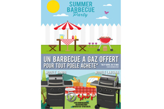 Invicta Shop 66 Perpignan vous offre un barbecue à gaz
