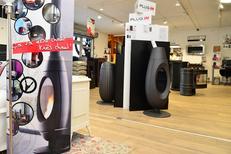 Invicta Shop Perpignan vend des poêles Plug In au Mas Guérido Cabestany (® SAAM-S.Delchambre)
