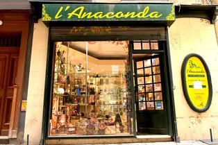 L'Anaconda Perpignan vend des bijoux, des articles spirituels, des objets déco, des minéraux et cristaux et de nombreuses idées cadeaux.(® SAAM-S.Delchambre)