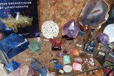 Lithothérapie Perpignan avec les minéraux, pierres et cristaux de l'Anaconda Perpignan en centre-ville (® networld-david gontier)
