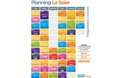 Salle de sport Saint Charles Perpignan L'Orange Bleue le soler et son planning de Cours collectifs