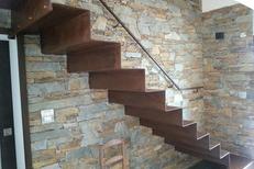 Escalier en fer sur mesure Perpignan réalisé par La Forge Catalane du Mas Guérido de Cabestany (® la forge catalane)