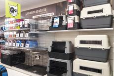 Médor et Compagnie Perpignan vend des produits anti-tiques, anti-puces, anti-moustiques, des caisses de transports pour chien et chat au Mas Guérido