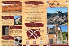 Castelnou Présentation de l'un des plus beaux villages de France
