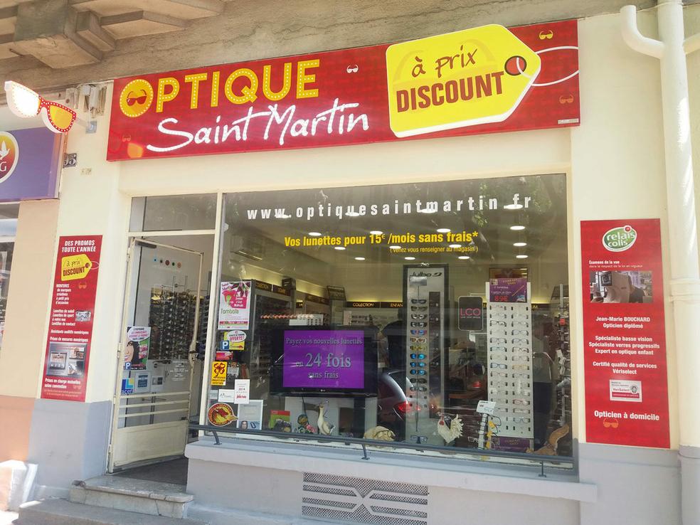 3df29f5e596d1d Optique Saint Martin Perpignan vend des lunettes pas cher et propose Optique  et Solaires à prix