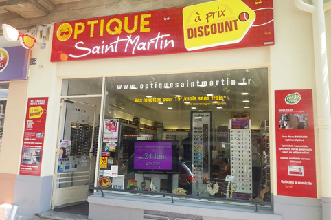 Optique Saint Martin Perpignan vend des lunettes pas cher et propose Optique et Solaires à prix discount (® networld-david gontier)