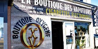Oxygène Cabestany Cigarettes électroniques près de Perpignan, des e-liquides et du matériel high tech au Mas Guérido (® SAAM-S.Delchambre)