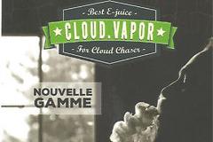 e-liquides Cloud Vapor Premium chez Oxygène Cabestany proche de Perpignan