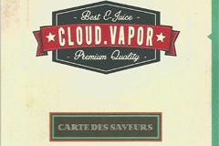 Oxygène Cabestany présente les saveurs Cloud Vapor
