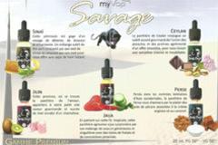 Classvaping Le Soler présente la gamme Savage de My Vap et Premium de Cloud Vapor (® oxygene)
