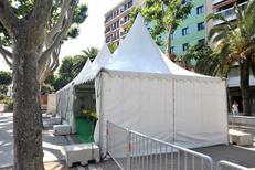 Barnum pour collectivités, entreprises, associations de la société Panoramique Location specialiste de la location de chapiteaux et tentes dans la ville de Pia (credits photos :EDV-S.Delchambre)