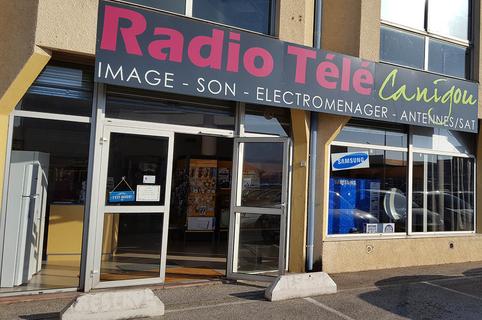 Radio Télé Canigou vend de l'électroménager, des télévisions, propose un service après-vente électroménager de qualité, installe et dépanne les antennes. Le magasin est près de Perpignan au Mas Guérido Cabestany.