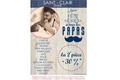 Boutiques Saint Clair Store et leur Look Book Fête des Pères