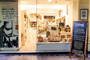 Torrons Vicens Perpignan vend des tourrons, chocolats et gourmandises en centre-ville