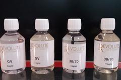 Vapot France Pollestres annonce une promo sur le e-liquide Revolute (® networld-gontier)